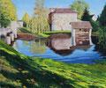 Lavoir, Mézières en Drouais         acrylique sur toile   65*50  2007