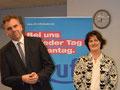 Vorstandsvorsitzender S.Siebert, Annette Hermes-Schmid