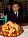 Сын Саша - первый раз во второй класс.