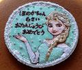 チーズケーキ 特注:キャラクタークッキー