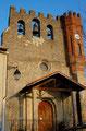 Façade Ouest de l'église de Rieucros/Ariège-Pyrénées