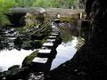 la fontaine de Fontestorbes coule très peu pendant 30 min