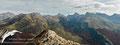 Panorámica desde el Pico Maz