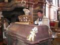 Fabian Bucher an der Gabler-Orgel in Maria Steinbach