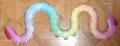 Bin am überlegen, ob ich die Schlange um 70 Elemente erweitere (für die Mathewerkstatt). Sie wäre dann wahrscheinlich so 3 m lang.