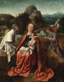 JAN DE BEER, Madonna mit Kind
