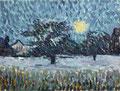 GIOVANNI GIACOMETTI, Winternacht