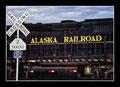Alaska Railroad in Seward