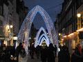 Weihnachtsdekoration in der Oxfordstreet
