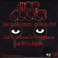 Welcome to my Nightmare (live) / I'm Eighteen (live) - Greece - bootleg - Black - Back
