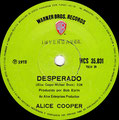 Under my Wheels / Desperado - Brazil - Promo 2 - B