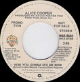 How you gonna see me now / No Tricks - USA - Promo B