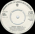 Teenage lament '74 / Hard hearted Alice - Promo - UK - B