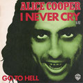 I never cry / Go to hell - France - Front