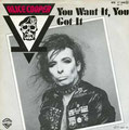 You want it, you got it / Who do you think we are - Germany - Front