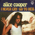 I never cry / Go to hell - Spain - Front