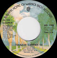 Teenage Lament '74 / Hard Hearted Alice - Canada - A
