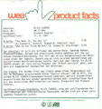 You want it, you got it / Who do you think we are - Germany - Product facts sheet