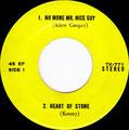 No more Mr nice guy - Heart of stone (Kenny) / Frankenstein (Edgar Winter group) - Fencewalk (Mandrill) - EP - Thailand - A