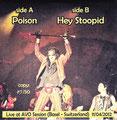 Poison (live) / Hey Stoopid (Live) - Bootleg - Black - Greece - Back