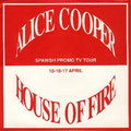 House of fire - 1 sided promo - Spain - Front