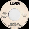 You want it, you got it / Romance (Bim) - Italy - Juke Box - B