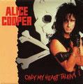 Only my Heart talkin' / Only Women bleed (Live) - Australia - Front