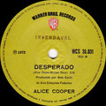 Under my Wheels / Desperado - Brazil - Promo 1 - B