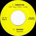 No more Mr nice guy - Heart of stone (Kenny) / Frankenstein (Edgar Winter group) - Fencewalk (Mandrill) - EP - Thailand - B
