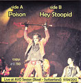 Poison (live) / Hey Stoopid (Live) - Bootleg - Clear - Greece - Back