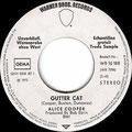 School's Out / Gutter Cat - Germany - 1st version - Promo - B