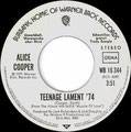 Teenage Lament '74 / Working up a sweat - Germany - PROMO - A