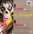 Hey stoopid / Wind up toy - Holland - Back