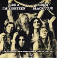 I'm Eighteen (live) / Black Juju (live) - Bootleg - Greece - Back