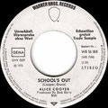 School's Out / Gutter Cat - Germany - 1st version - Promo - A