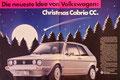 """Golf I Cabrio """"Christmas Cabrio CC"""", Doppelseite - Seite 54-55"""