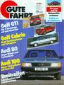 (0183) 04.1987 - Golf I Cabrio: Neue Kombinationen und Farbenspiele - Seite 30-33