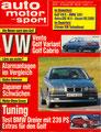 (0158) Nr. 25 - 29.11.1991 - VW Neuheiten - Seite 12-18