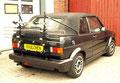 Heckträger für 1 oder 2 Räder/Golf l Cabrio bis 01/93!