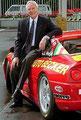 Helmut Becker Junior. Ja ja Ferrari, Jaguar und Rolls Royce, das war seins!