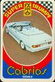 SUPER TRUMPF CABRIOS - Nr. 50048.4 - 6B Golf 1 Cabrio (Deckblatt)