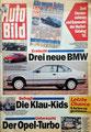 """(0318) Nr. 41 - 07.10.1991 - Fahrtips mit Bild vom Golf I Cabrio - """"Im Herbst den Fuß bremsen""""! - Seite 100"""