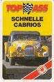 (0293) TOP ASS SCHNELLE CABRIOS - Nr. 3216/4 - E4 - Golf 1 Cabrio (Deckblatt)