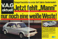 """Golf I Cabrio """"Sondermodell-Weiß"""" - Seite 172/173"""