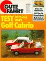(0171) Nr. 5 - 05.1979 - Test: Golf I Cabrio 70 PS/110 PS - Seite 22-27
