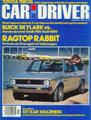 (0211) 01.1980 - Test: Volkswagen Rabbit Convertible - Seite 33-37