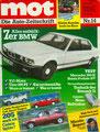(0197) Nr. 14 - 28.06.1986 - Vergleichstest: Cabrio - Seite 16-26