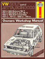 VW GOLF (petrol) Owners Workshop Manuual