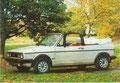 (0116) Postkarte, Golf Cabriolet