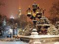 Нью Йорк. Зима. Ночь